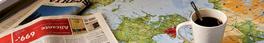 Maps as oilcloth