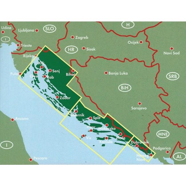 Dalmatian Coast Rijeka Cres Krk Kornaten Zadar S