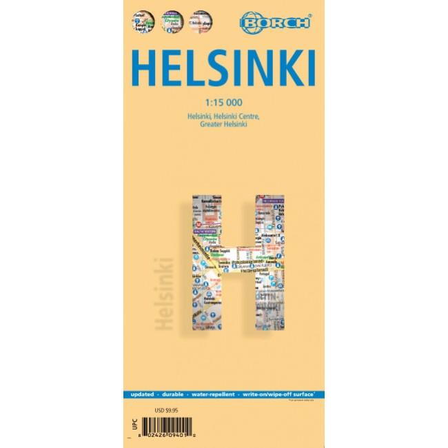 Helsinki Helsingfors Finland Kort Borch Nordisk Korthandel
