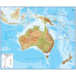 Australia Oceania Wall Maps Maps Nordisk Korthandel