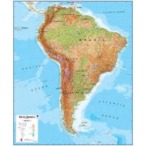 Sydamerika Fysisk