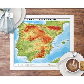 Spanien/Portugal Dækkeserviet