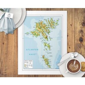 Færøerne Dækkeserviet