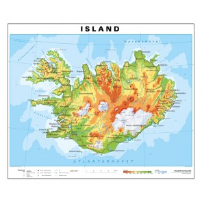 Island - skriveunderlag