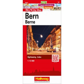 Bern 3 in 1 City Map