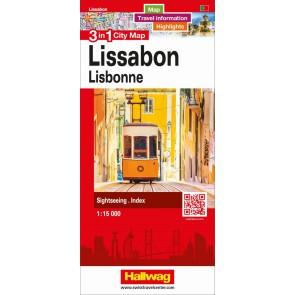 Lissabon 3 in 1 City Map