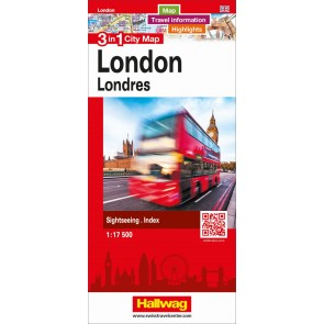 London 3 in 1 City Map