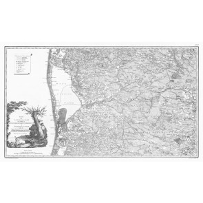 Jylland Vest (syd delen) - Videnskabernes Selskabs kort