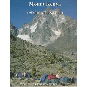 Mount Kenya Map & Guide