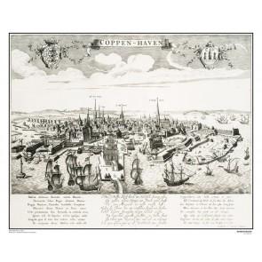 Bykort København,  år 1640