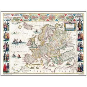 Europa, år 1645