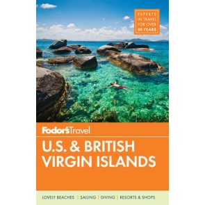 Fodor´s U.S. and British virgin islands
