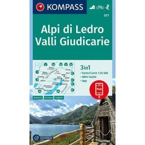 Alpi di Ledro, Valli Giudicarie