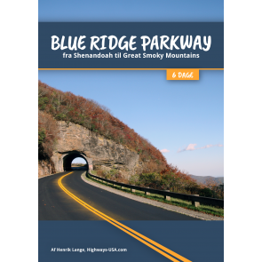 Blue Ridge Parkway fra Shenandoah til Great Smoky Mountains