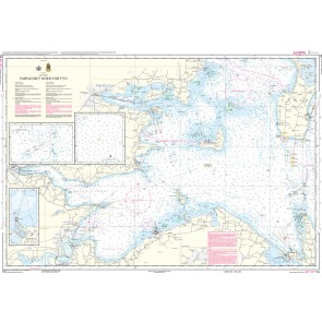 114 Farvandet nord for Fyn (kortmål 97 x 66 cm)