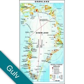 Grønland  Gulvlaminering