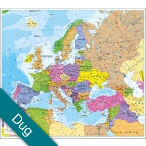 Europa politisk uden flag Voksdug