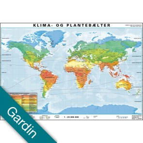 Klima- & Plantebælter Gardin