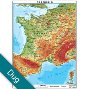 Frankrig Voksdug