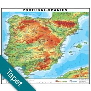Spanien/Portugal Tapet