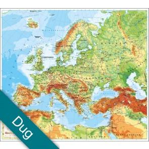 Europa uden flag Voksdug