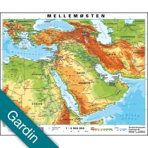 Mellemøsten Gardin