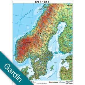 Sverige  Gardin