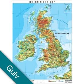 Storbritannien Gulvlaminering