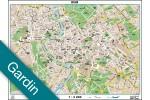 Rom bykort Gardin