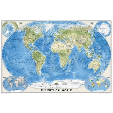 World Physical - Ocean floor