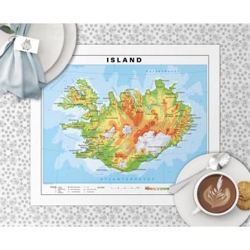Island Dækkeserviet