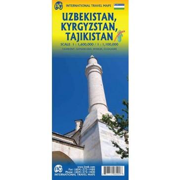 Uzbekistan, Kyrgyzstan & Tajikistan