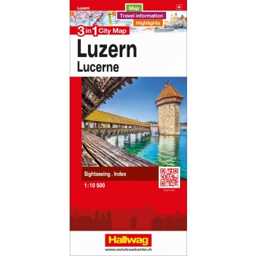 Luzern 3 in 1 City Map