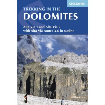 Trekking in the Dolomites - Alta Via Routes 1 and 2 w/3-6