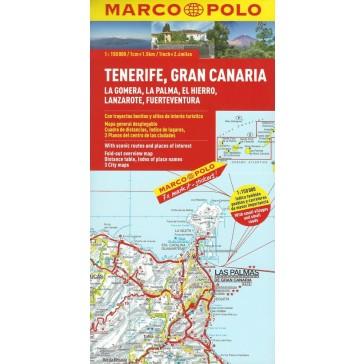 Tenerife, Gran Canaria, La Gomera, La Palma, El Hierro