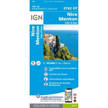 3742 OT, Nice, Menton