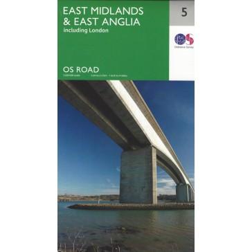East Midlands & East Anglia, incl. London