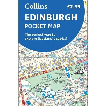 Collins Pocket Map Edinburgh