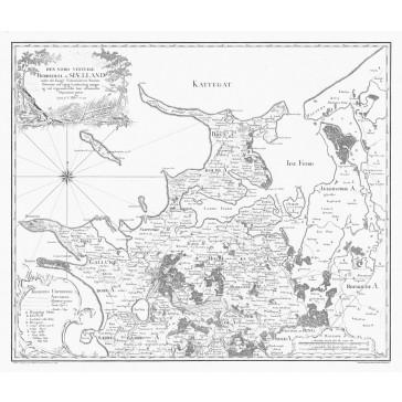 Sjælland Nordvest - Videnskabernes Selskabs kort