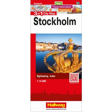 Stockholm 3 in 1 City Map