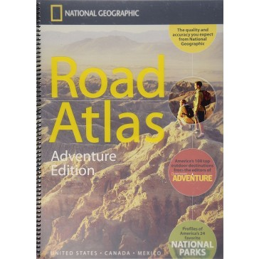 Road Atlas: Adventure Edition United States