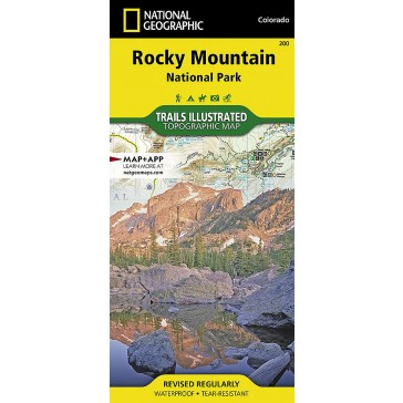 Rocky Mountain National Patk - Trails Illustrated