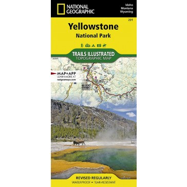 Yellowstone National Park - Trails Illustrated