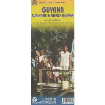 Guyana, Surinam, French Gyana
