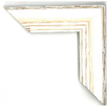 Slidt & Hvidt træliste, nr. 2512, 40 mm