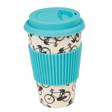 Bamboo Travel Mug Bicycle Rider's