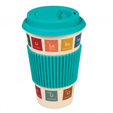 Bamboo Travel Mug Periodic Table