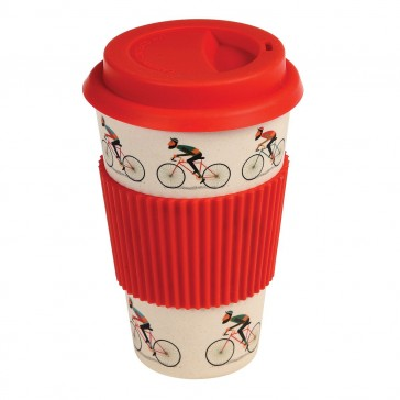 Bamboo Travel Mug Le Bicycle