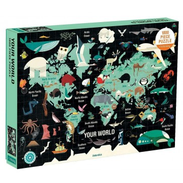 Your World Puzzle (1000 brikker)