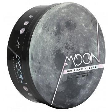 Moon Puzzle (100 brikker) - Månen